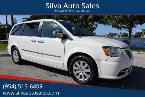 2011 Chrysler Town and Country for sale at Silva Auto Sales in Pompano Beach FL