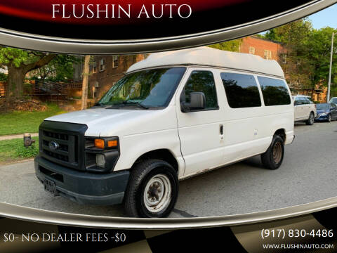 2011 Ford E-Series Cargo for sale at FLUSHIN AUTO in Flushing NY