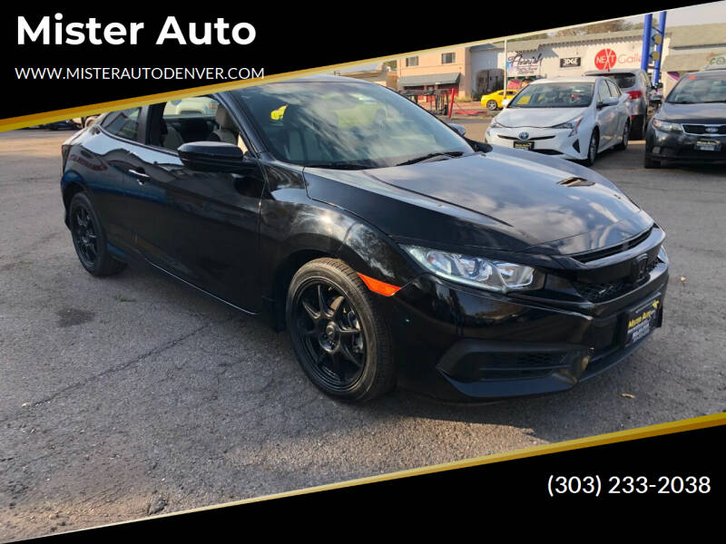 2016 Honda Civic for sale at Mister Auto in Lakewood CO