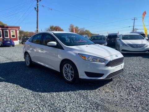 2018 Ford Focus for sale at A&M Auto Sales in Edgewood MD