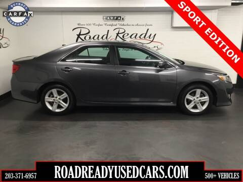 2013 Toyota Camry for sale at Road Ready Used Cars in Ansonia CT