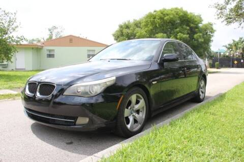 2008 BMW 5 Series for sale at Imperial Capital Cars Inc in Miramar FL