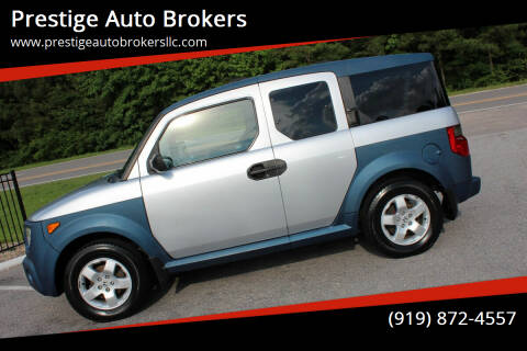 2005 Honda Element for sale at Prestige Auto Brokers in Raleigh NC