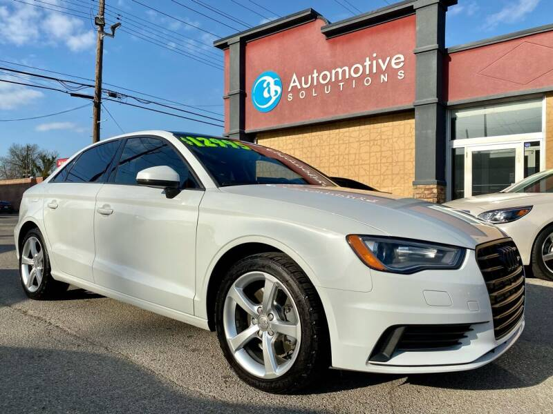 2015 Audi A3 for sale at Automotive Solutions in Louisville KY