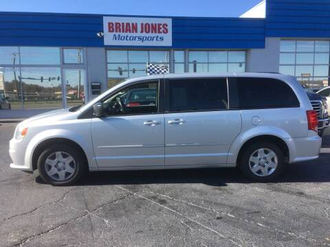 2012 Dodge Grand Caravan for sale at Brian Jones Motorsports Inc in Danville VA