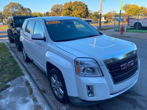 2014 GMC Terrain for sale at Matthew's Stop & Look Auto Sales in Detroit MI
