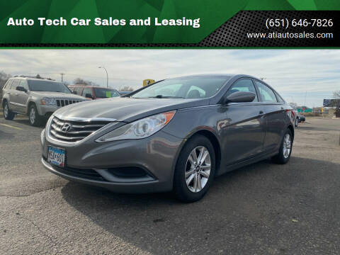 2011 Hyundai Sonata for sale at Auto Tech Car Sales and Leasing in Saint Paul MN