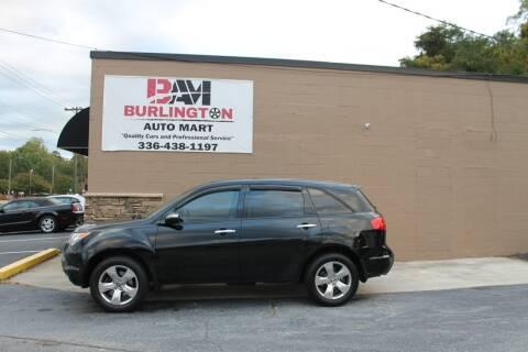 2009 Acura MDX for sale at Burlington Auto Mart in Burlington NC