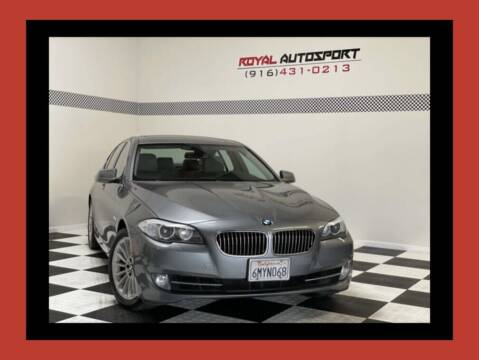 2011 BMW 5 Series for sale at Royal AutoSport in Sacramento CA