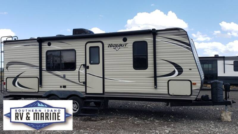 2017 KEYSTONE HIDEOUT 22RBWE for sale at SOUTHERN IDAHO RV AND MARINE in Jerome ID