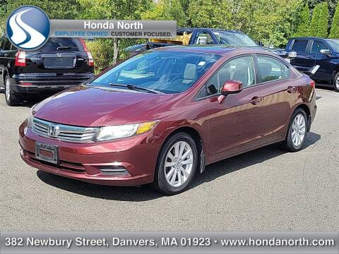 2012 Honda Civic for sale at 1 North Preowned in Danvers MA