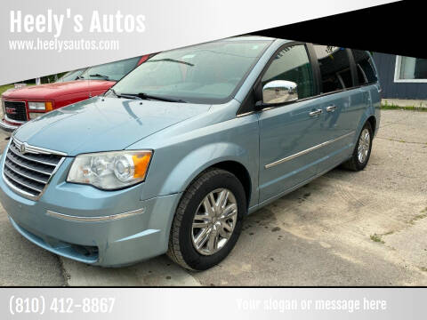 2008 Chrysler Town and Country for sale at Heely's Autos in Lexington MI