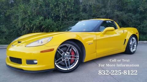 2008 Chevrolet Corvette for sale at Houston Auto Preowned in Houston TX