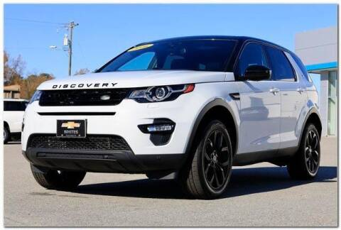 2016 Land Rover Discovery Sport for sale at WHITE MOTORS INC in Roanoke Rapids NC
