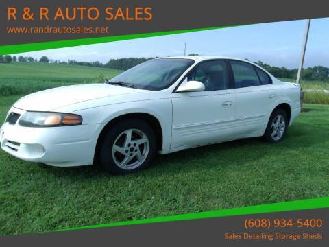 2003 Pontiac Bonneville for sale at R & R AUTO SALES in Juda WI