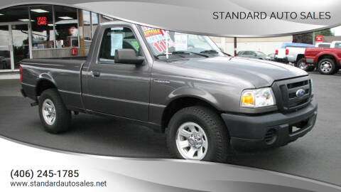 2011 Ford Ranger for sale at Standard Auto Sales in Billings MT