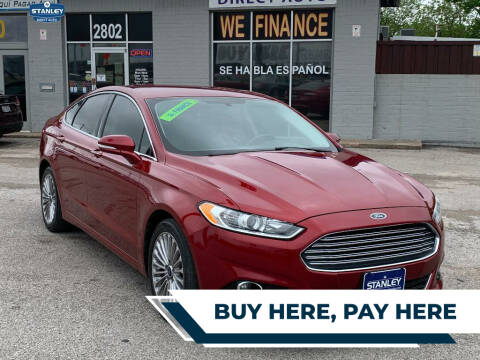 2015 Ford Fusion for sale at Stanley Direct Auto in Mesquite TX