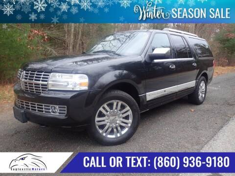 2010 Lincoln Navigator L for sale at EAGLEVILLE MOTORS LLC in Storrs CT