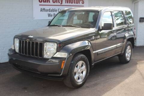 2011 Jeep Liberty for sale at Oak City Motors in Garner NC