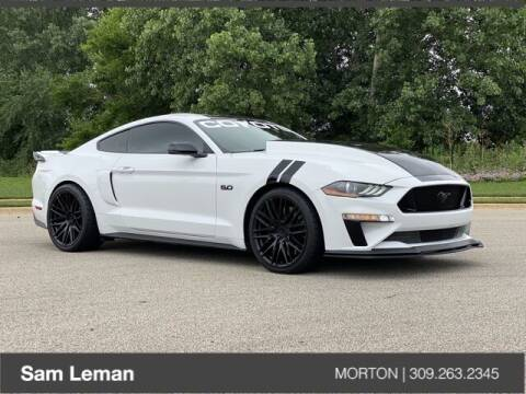 2018 Ford Mustang for sale at Sam Leman CDJRF Morton in Morton IL