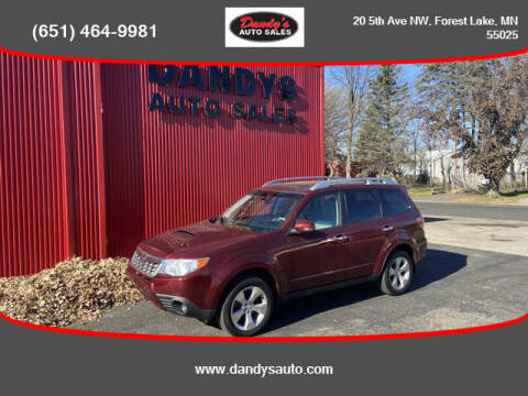 2011 Subaru Forester for sale at Dandy's Auto Sales in Forest Lake MN