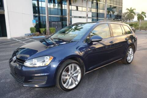 2016 Volkswagen Golf SportWagen for sale at SR Motorsport in Pompano Beach FL