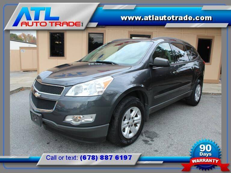 2012 Chevrolet Traverse for sale at ATL Auto Trade, Inc. in Stone Mountain GA