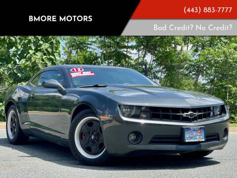 2012 Chevrolet Camaro for sale at Bmore Motors in Baltimore MD