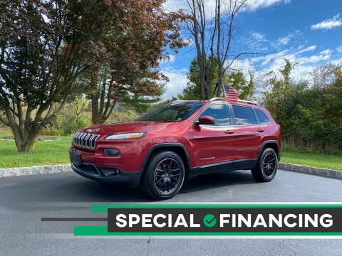 2014 Jeep Cherokee for sale at QUALITY AUTOS in Hamburg NJ