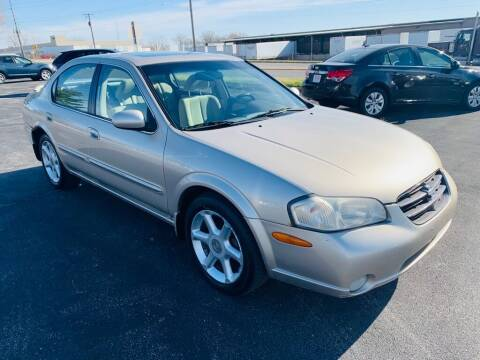 2001 Nissan Maxima for sale at Central Iowa Auto Sales in Des Moines IA