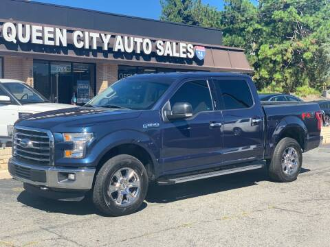 2016 Ford F-150 for sale at Queen City Auto Sales in Charlotte NC