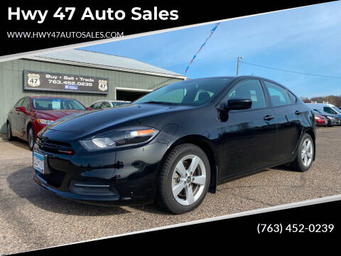 2016 Dodge Dart for sale at Hwy 47 Auto Sales in Saint Francis MN