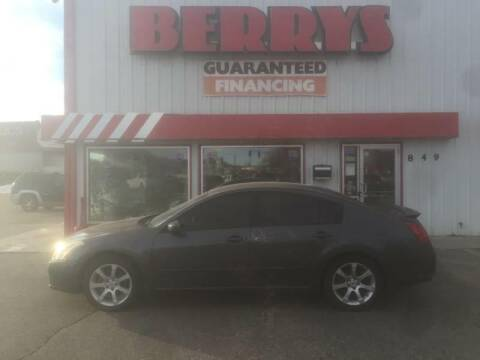 2007 Nissan Maxima for sale at Berry's Cherries Auto in Billings MT