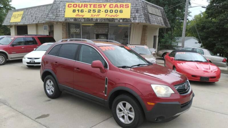 2008 Saturn Vue for sale at Courtesy Cars in Independence MO