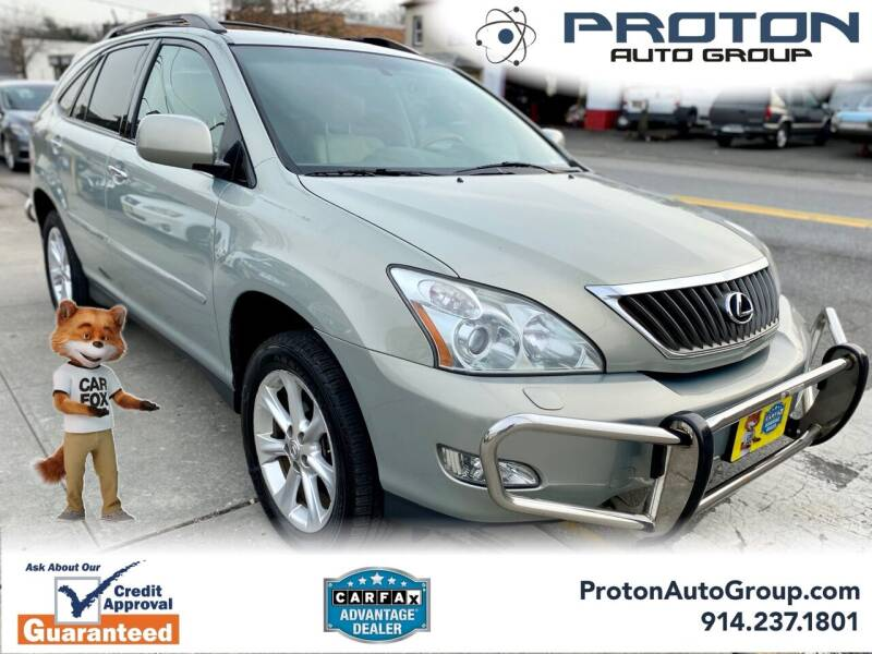 2009 Lexus RX 350 for sale at Proton Auto Group in Yonkers NY