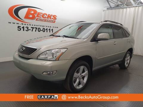 2008 Lexus RX 350 for sale at Becks Auto Group in Mason OH