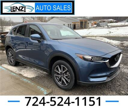 2018 Mazda CX-5 for sale at LENZI AUTO SALES in Sarver PA