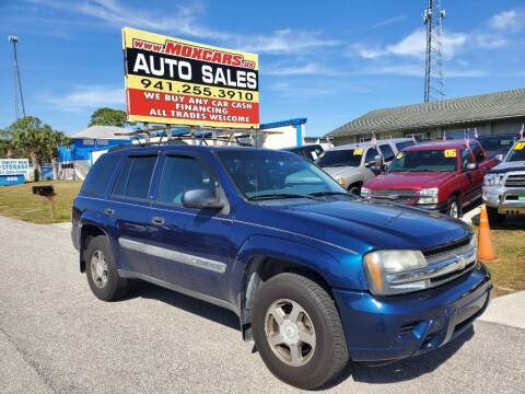 2004 Chevrolet TrailBlazer for sale at Mox Motors in Port Charlotte FL