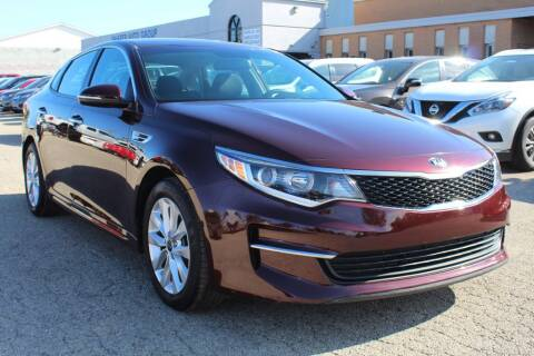 2017 Kia Optima for sale at SHAFER AUTO GROUP in Columbus OH