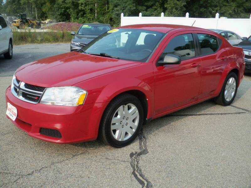 2013 Dodge Avenger for sale at Charlies Auto Village in Pelham NH