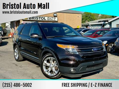 2013 Ford Explorer for sale at Bristol Auto Mall in Levittown PA