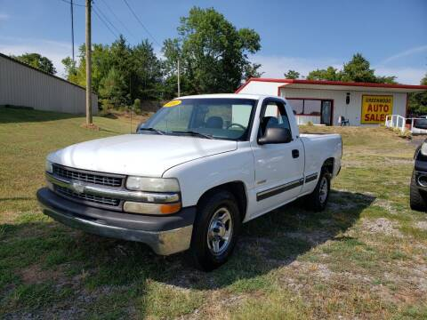 2000 Chevrolet Silverado 1500 for sale at Greenwood Auto Sales in Greenwood AR