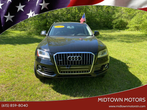 2013 Audi Q5 for sale at Midtown Motors in Greenbrier TN