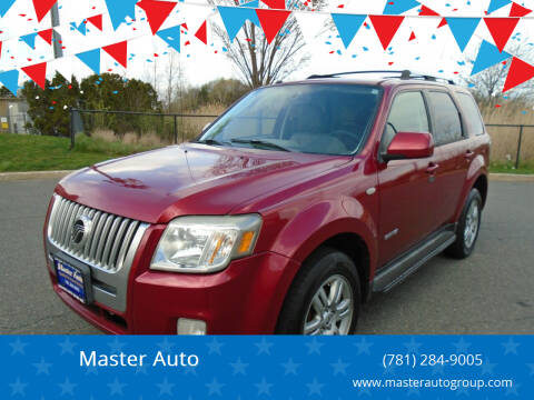 2008 Mercury Mariner for sale at Master Auto in Revere MA