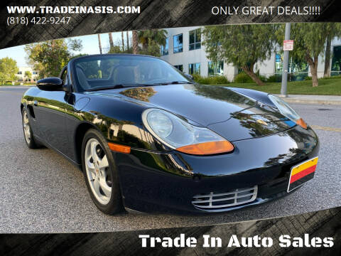 2002 Porsche Boxster for sale at Trade In Auto Sales in Van Nuys CA
