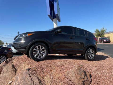 2016 Kia Sportage for sale at SPEND-LESS AUTO in Kingman AZ