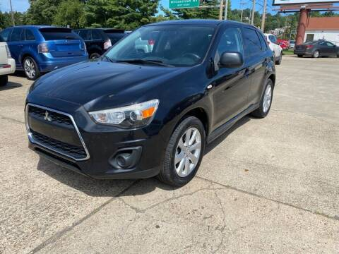 2014 Mitsubishi Outlander Sport for sale at Wolfe Brothers Auto in Marietta OH