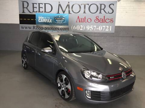 2012 Volkswagen GTI for sale at REED MOTORS LLC in Phoenix AZ