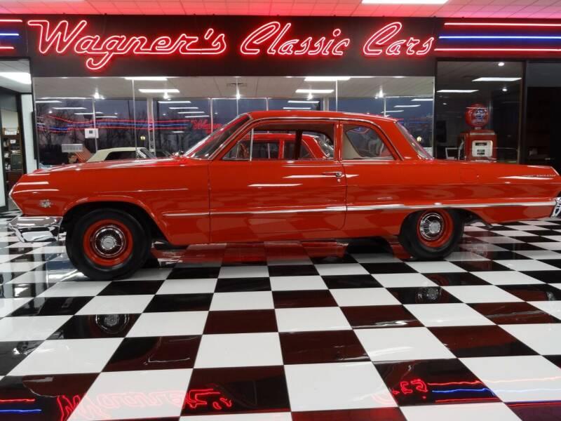 1963 Chevrolet Bel Air for sale at Wagner's Classic Cars in Bonner Springs KS