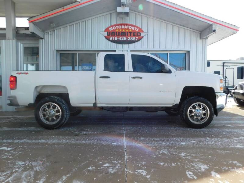 2016 Chevrolet Silverado 2500HD for sale at Motorsports Unlimited in McAlester OK